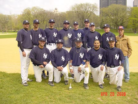 Champion Central Park Yankees