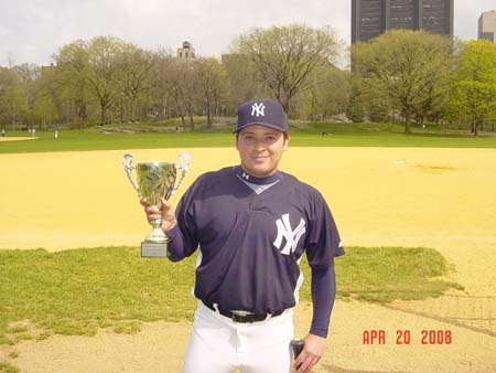 Dr. Cass and the Champion Central Park Yankees